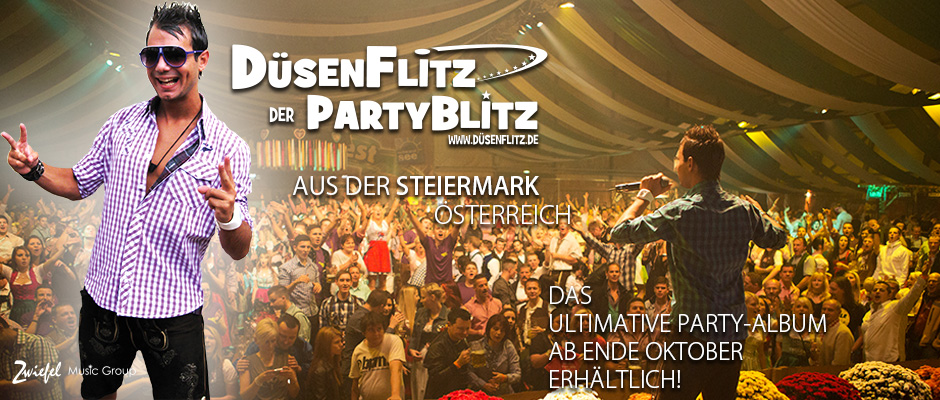 DÜSENFLITZ DER PARTYBLITZ - SÄNGER - SONGWRITER - ENTERTAINER - TV MODERATOR