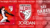 Sei dabei - Jordan Hanson - Der offizielle Fan Song der Wild Cat`s Handball Bundesliga SV Union Balla Neustadt